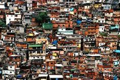 Rio de Janeiro, Brazil: The largest favela (basically meaning shanty town) in Rio De Janeiro. Oh The Places You'll Go, Great Places, Places Ive Been, Beautiful Places, Photographer Needed, Slums, Celebrity Houses, Perfect World, India Travel