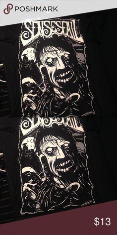 New Senses Fail Zombie Band Shirt Unisex Small Unisex Small, senses fail, band merch, New, hot topic Hot Topic Tops Tees - Short Sleeve