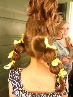 Suessical hair...