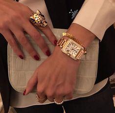 Cartier - Tank Anglaise diamond watch