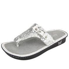 8d88308afc82 Alegria Shoes Vanessa Sandal in  Posh Silver  from Alegria Shoe Shop Alegria  Shoes