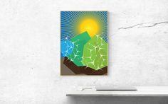 Excited to share the latest addition to my #etsy shop: Arid - Southwest Desert Illustration http://etsy.me/2i7kfif