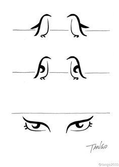 As ilustrações divertidas de Tango