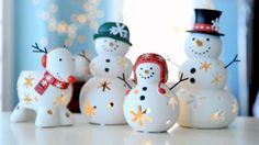 Make way for the super cute 'Snowman Family' ready for the holidays! www.partylite.biz/gmcgee :)