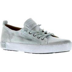 Women's Blackstone JL20 Sneaker White (Grey) Full Grain (Euro Women's 36 (US Wms ) M (Regular))