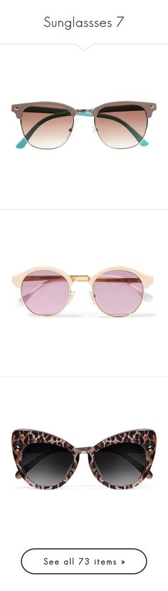 """""""Sunglassses 7"""" by musicmelody1 ❤ liked on Polyvore featuring accessories, eyewear, sunglasses, glasses, oculos, plastic sunglasses, river island, retro eyewear, retro style sunglasses and river island sunglasses"""