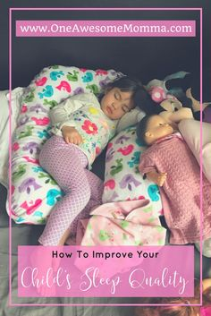 Does your child have sleep problems? Does your toddler need sleep help? Help improve your child's sleep quality and have them stay asleep all night with this revolutionary sleep pillow. Click on the image to learn more.