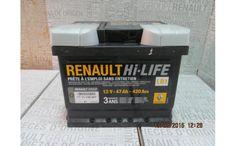 Baterie auto 47 Ah 420 A(EN) Originala Renault - Arhivat