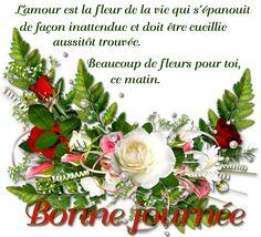 Citations et Panneaux Facebook à partager: Bonne journée mes amies