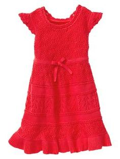 For my little girl in the red dress.