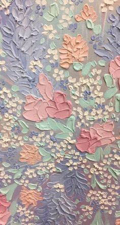 ideas flowers painting acrylic wallpaper for 2020 Iphone Background Wallpaper, Pastel Wallpaper, Aesthetic Iphone Wallpaper, Flower Wallpaper, Phone Backgrounds, Aesthetic Wallpapers, Iphone Background Vintage, Wallpaper Art, Iphone Wallpapers