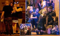 Suicide bomber strikes at Manchester Arena: Twenty-two people are killed and 59 injured in terrorist attack as 'nail bomb near the exit' explodes, ripping into teens leaving packed Ariana Grande gig Daily Mail Uk, Ariana Grande Concert, Soccer Predictions, Pops Concert, Twenty Two, Sarah Palin, Cat Valentine, Current Events, Victorious