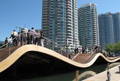 Toronto's Waterfront WaveDeck.
