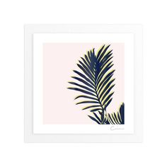 """""""Palm Study #2"""" - Art Print by Cindy Lackey in beautiful frame options and a variety of sizes."""