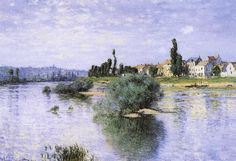 Lavacourt - Claude Monet