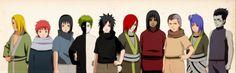 All young guys Akatsuki Deidara,Sasori, Itachi, Zetsu, Madara, Nagato, Kakuzu, Hidan, Konan and Kisame
