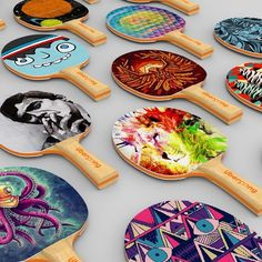 Ping Pong Paddles by Uberpong #Cool, #Design, #PingPong