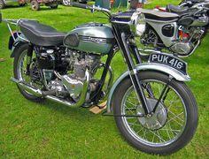 triumph vintage motorcycle