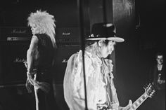 Michael Monroe and Andy McCoy of Hanoi Rocks (photo: Dave Melnychuk)