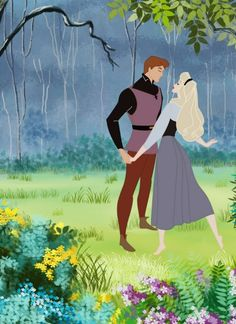 """Sleeping Beauty. """"I know you, i've walked with you, once upon a dream"""""""