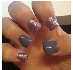 I will never understand this nail shape...they look like flippers.