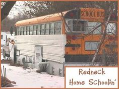 First looks at a school for rednecks.