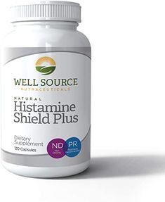 Amazon.com: Histamine Shield Plus™ All Natural Antihistamine Supplement Works for Pollen, Pet Dander, Dust, Mold, and Odor Allergies. 120 Capsules: Health & Personal Care