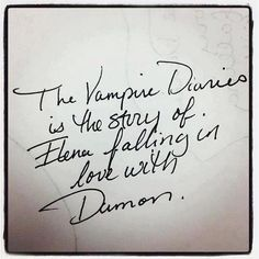 Said by the author of Tvd: L.J Smith