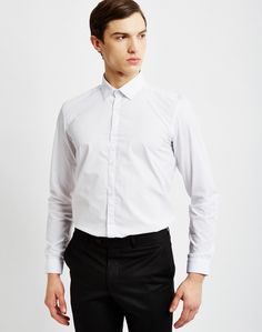The Idle Man White Shirt | Check out The Idle Man's full range of smart business wear | #StyleMadeEasy