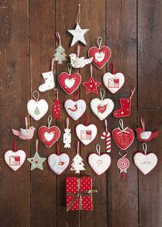 Fabric ornaments
