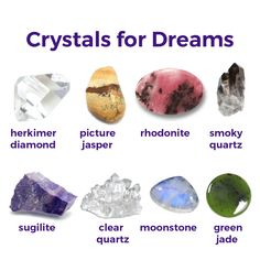 Crystals for dreams. May you have the sweetest of dreams. #crystals #dreams #dreamsweet #crystalhealing #crystallove #metaphysical #healingcrystals #crystal #healing #meditation #success #opportunities #motivation #inspiration #healingstones #love #goals #night