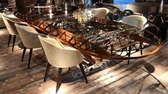 Boeing Stearman PT17 75 Aircraft Wing Conference Table 4