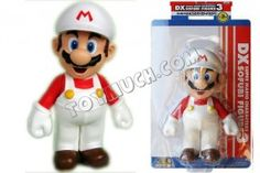 Mario 9 inch PVC Figure with White Hat (in box)