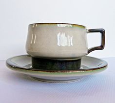 Vintage Bing and Grondahl Tema Danish Modern Tea by EdibleComplex, $14.00