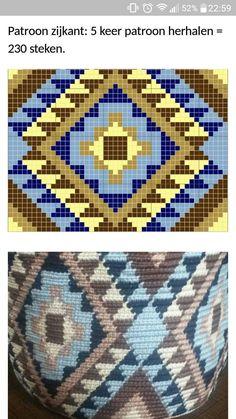 Hand knitted bags patterns – Knittting Crochet - My CMS Crochet Table Runner Pattern, Tapestry Crochet Patterns, Crochet Bikini Pattern, Loom Patterns, Stitch Patterns, Knitting Patterns, Hand Knit Bag, Tapete Floral, Mochila Crochet