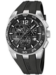 Orologi | Chrono12 - Festina Sport F16668/5 Chronograph schwarz 45 mm