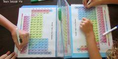Elle a créé un jeu pour faire apprendre le tableau périodique à ses enfants Parenting So well done