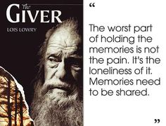 Changing Boundaries: Unresolved Endings. The Giver by Lois Lowry Giver Quotes, Movie Quotes, Book Quotes, Quotes Quotes, Qoutes, I Love Books, Good Books, Books To Read, My Books