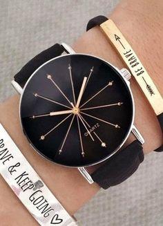 Kup mój przedmiot na #vintedpl http://www.vinted.pl/akcesoria/zegarki/20639428-zegarek-czarny-nowy-idealny-na-prezent