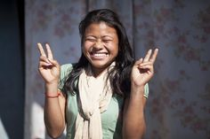 Tika is one the 1000 Shillings ladies from Nepal!