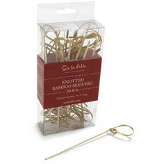 Sur La Table® Knotted Bamboo Skewers | Sur La Table