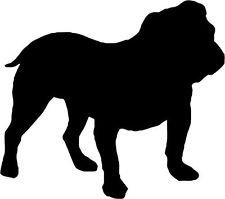 American bulldog silhouette - photo#6