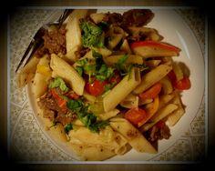 Beef Stir Fried Pasta