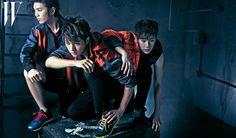 INFINITE ♡ Sunggyu, Dongwoo, Woohyun, Hoya, Sungyeol, L, and Sungjong - W Magazine