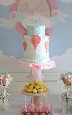 Little Wish Parties   Hot Air Balloon First Birthday   https://littlewishparties.com