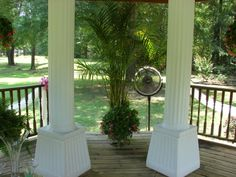 Marys rental columns for Gazebo Wedding