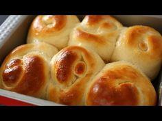 Bread rolls or dinner rolls (Roll-ppang: 롤빵) - YouTube ----- MINE FOR HC