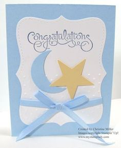 stampin up baby cards - Google Search