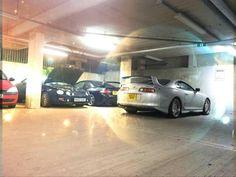 The Supra and the Celica's