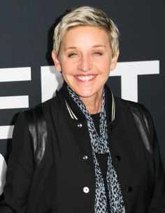 The TV host has almost always kept her hair short. #Pixie #Hairstyle